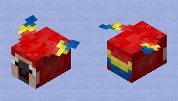 Fat parrot Minecraft Mob Skin