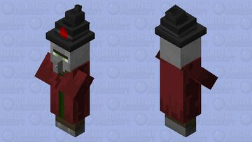 Sanguineous Mage Minecraft Mob Skin