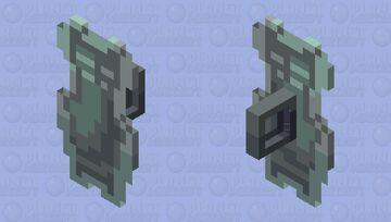 Mandalorian Guard shield Minecraft Mob Skin