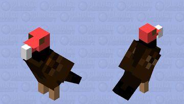 Turkey Vulture Minecraft Mob Skin