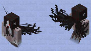 Okiku the Yurei Minecraft Mob Skin