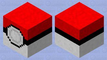 Pokeball with a Diglett inside! Minecraft Mob Skin