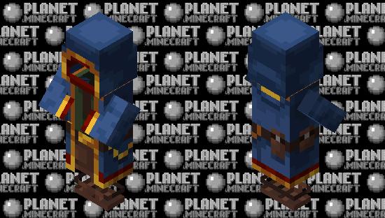 Wandering Trader costume Minecraft Skin