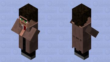 Wandering Trader (Asylum themed) Minecraft Mob Skin
