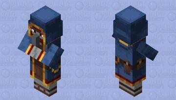Traitor Wandering Trader Minecraft Mob Skin