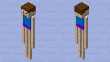 Steve... but something is wrong Minecraft Mob Skin