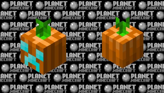 Soul Jack o Lantern Minecraft Skin