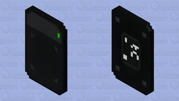 Graphic tablet Minecraft Mob Skin