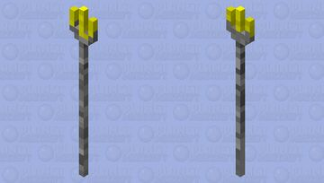 Fork With Cheese Minecraft Mob Skin