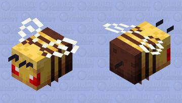 furious bee Minecraft Mob Skin