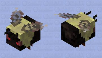 Bumble Bee [Angry] Minecraft Mob Skin
