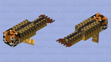 Shachihoko (fish tiger) Minecraft Mob Skin