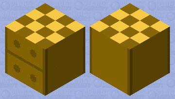 bedside table Minecraft Mob Skin