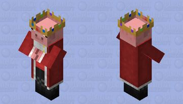 Techno Villager Minecraft Mob Skin