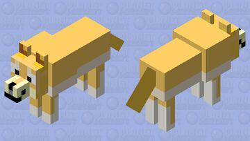 Doge (Tame/Normal) Minecraft Mob Skin