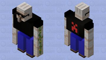 iron gangster Minecraft Mob Skin