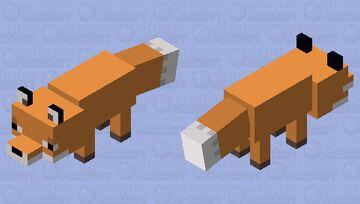 Plastic fox Minecraft Mob Skin