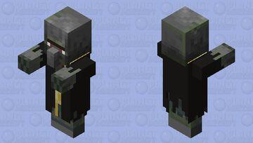 Zombie Evoker Minecraft Mob Skin