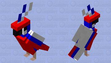 Russia Parrot Minecraft Mob Skin