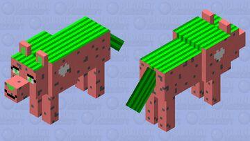 Doggomelon For LittleMou5e's Skin Contest Minecraft Mob Skin