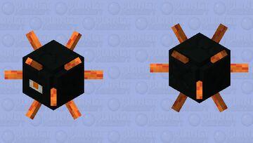 Spike Ball halloween edition Minecraft Mob Skin