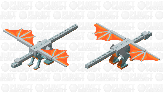Air dragon Minecraft Skin