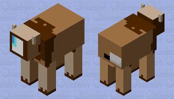 Choco Cow sus Minecraft Mob Skin
