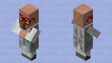 Elementologue villager profession 1 Minecraft Mob Skin