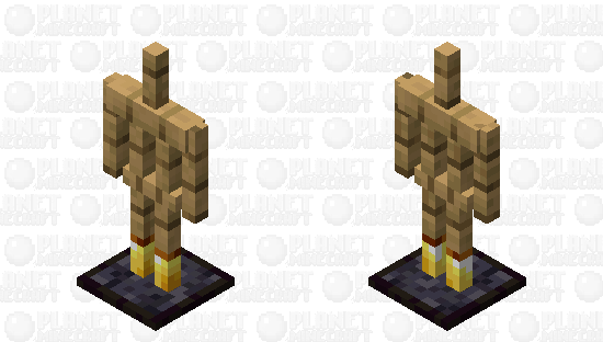 Blackstone Plated Armor Stand Minecraft Skin