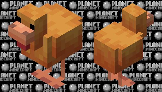 amber chicken (minecraft earth) Minecraft Skin