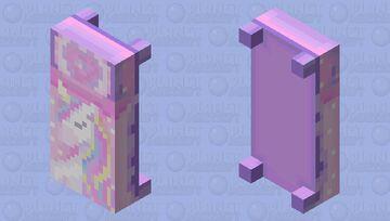 Kawaii Unicorn Bed Minecraft Mob Skin