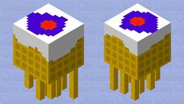 WaffleGhast Minecraft Mob Skin