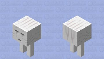 Walking ghast Minecraft Mob Skin