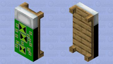 Omnitrix Bed Minecraft Mob Skin
