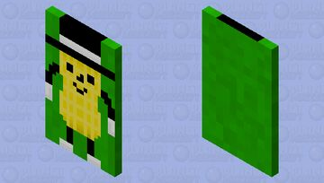 Who even is this yellow bean thing? What, it's supposed to be a nut? Ok. Minecraft Mob Skin