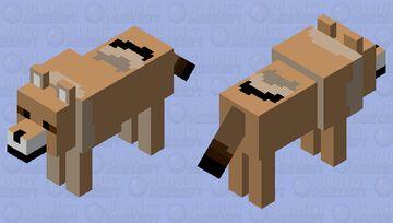 Coyote Minecraft Mob Skin