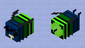 Euglossa Bazinga Bee Minecraft Mob Skin