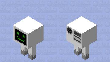 Billy But Is Strider Minecraft Mob Skin