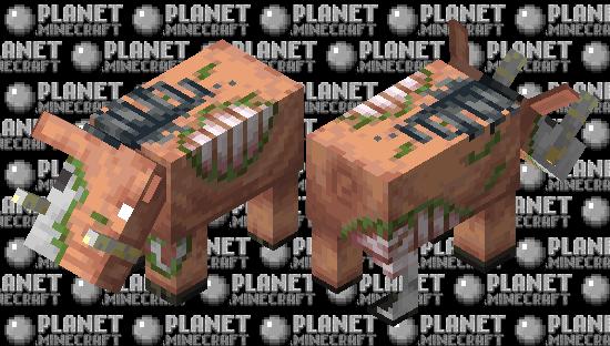 Better zoglin Minecraft Skin