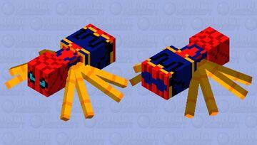 iron spider spider Minecraft Mob Skin