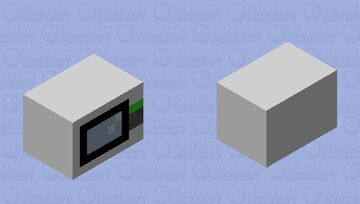 microwave Minecraft Mob Skin