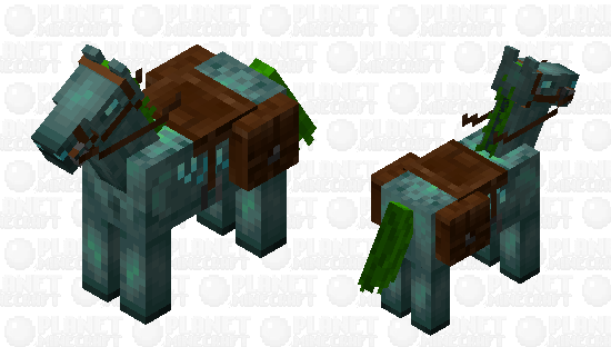 drowned horse Minecraft Skin
