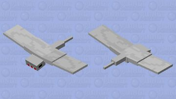 Sky shark Minecraft Mob Skin