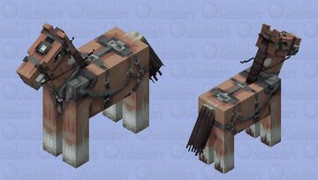 This is my horse. But I made him in Minecraft. Minecraft Mob Skin