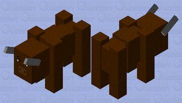 Bull. (Hostile mob.) Minecraft Mob Skin