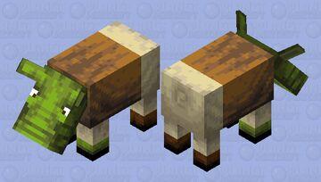 Shrek Minecraft Mob Skin
