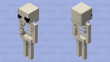 FishStacks style Skeleton Minecraft Mob Skin