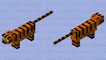 Tiger cat Minecraft Mob Skin
