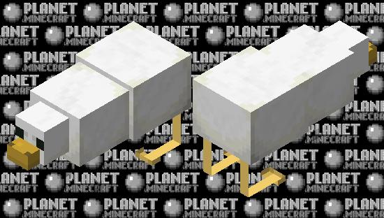 Giant Chicken Minecraft Skin
