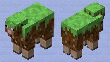 Un-Earthly Sheep. (Disturbing abominations CE) Minecraft Mob Skin